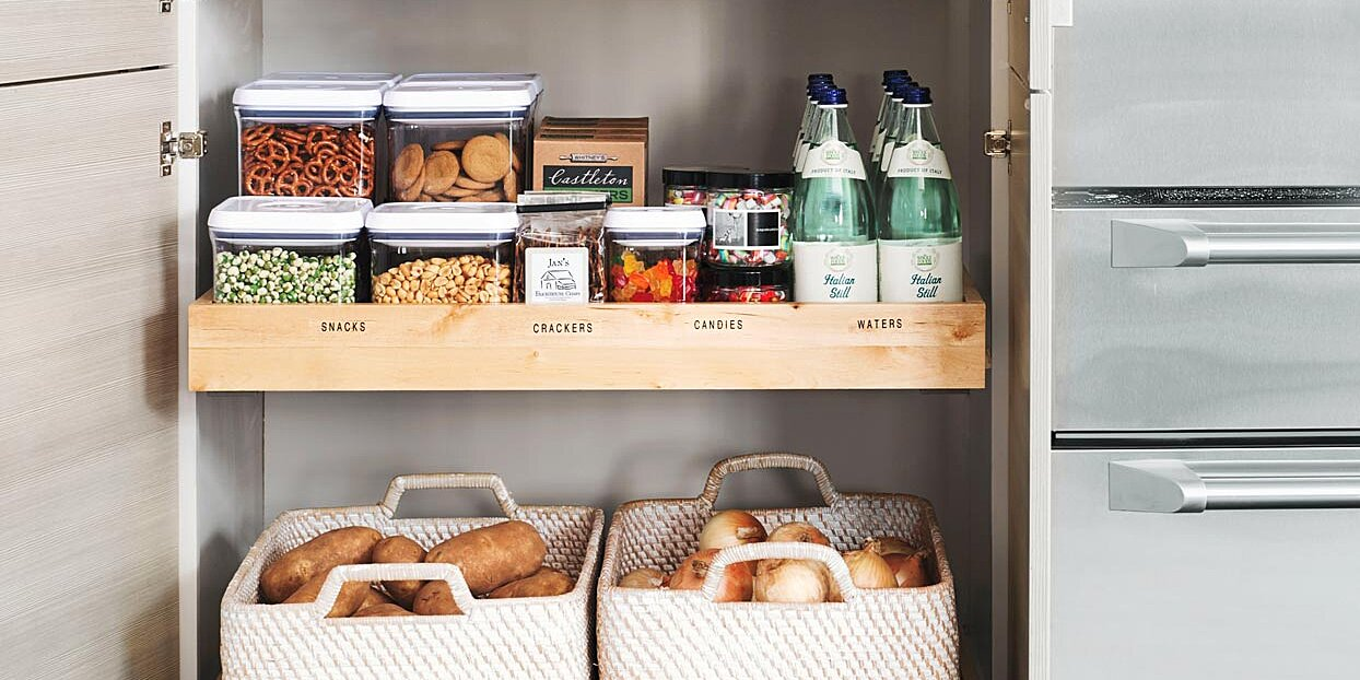 three simple storage ideas to organize your pantry for good
