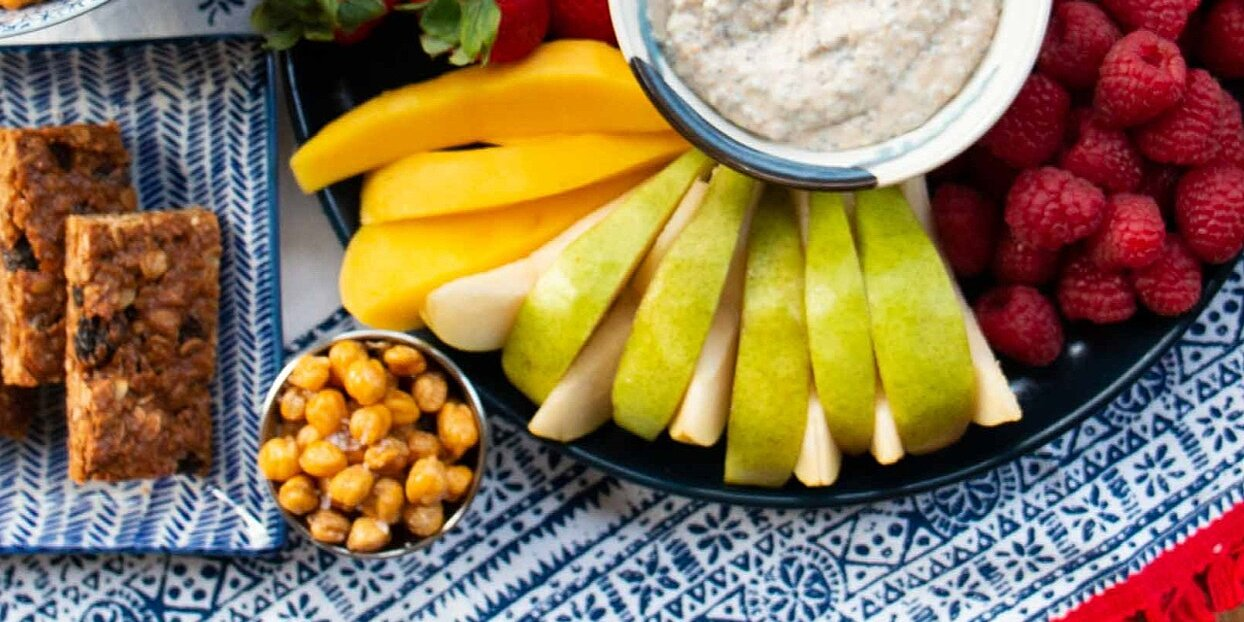 healthy snacks kids can make