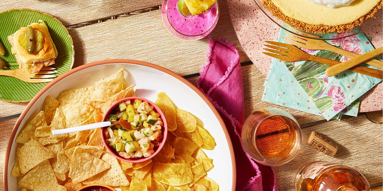 soak it up tropical menu for a poolside staycation
