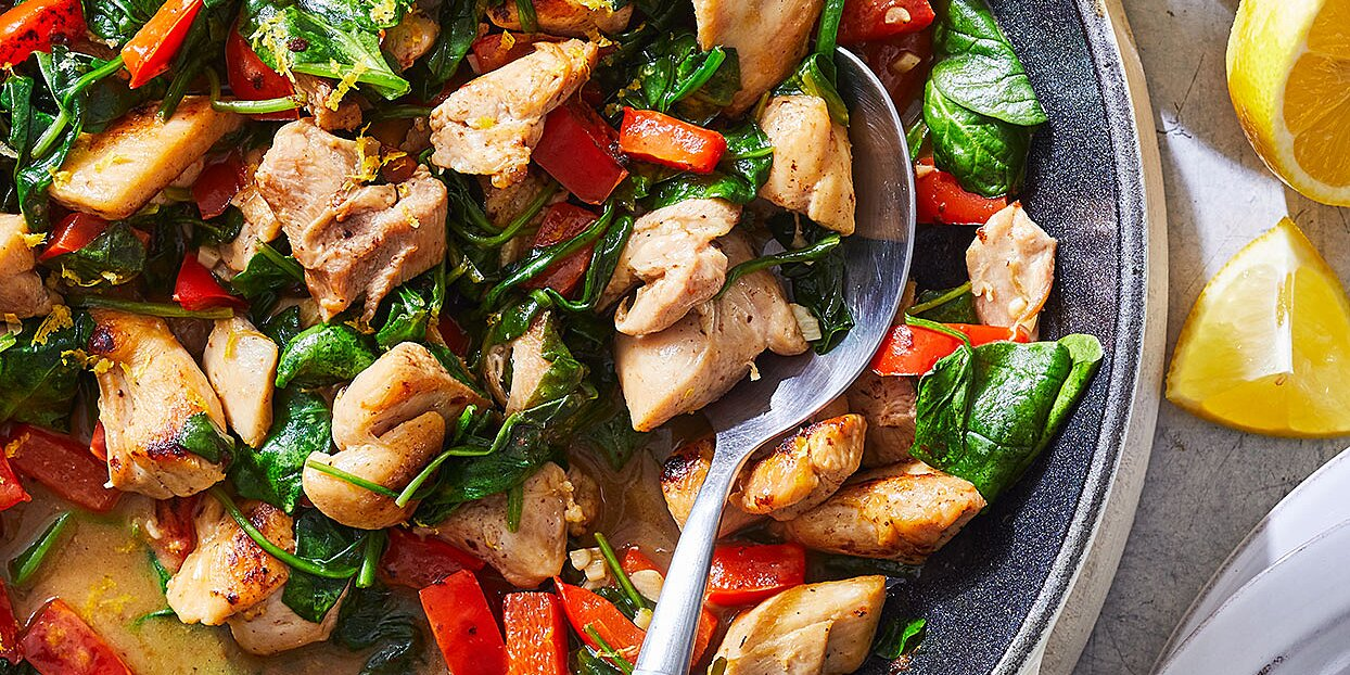 20 Skillet Chicken Thigh Recipes