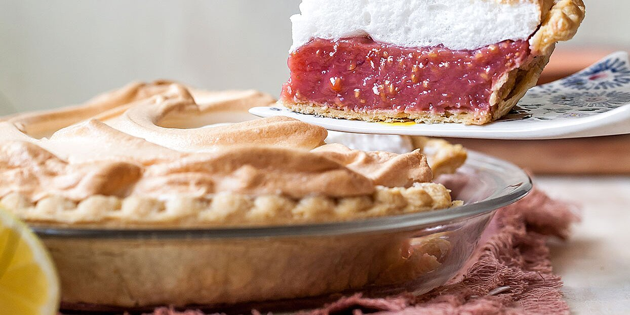 Pink-Lemonade Meringue Pie