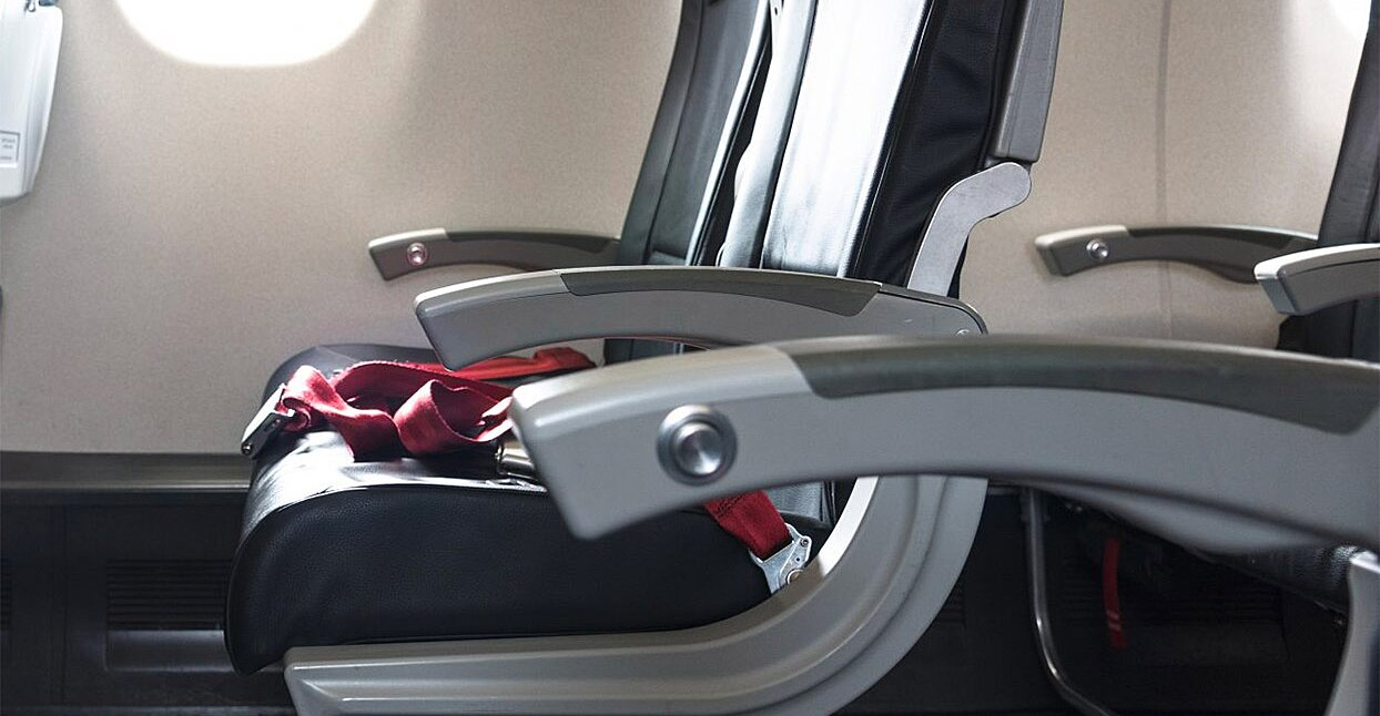 Here's Why You Should Always Wipe Down an Airplane Seat