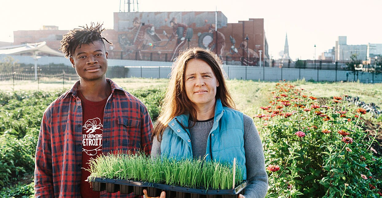 This Organization Is Transforming Detroit Neighborhoods, One Garden at a Time