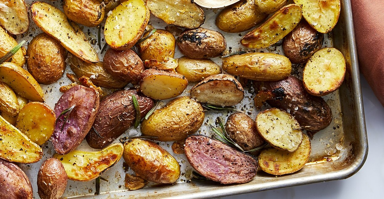 17 Simple Roasted Potato Recipes with 6 Ingredients or Less