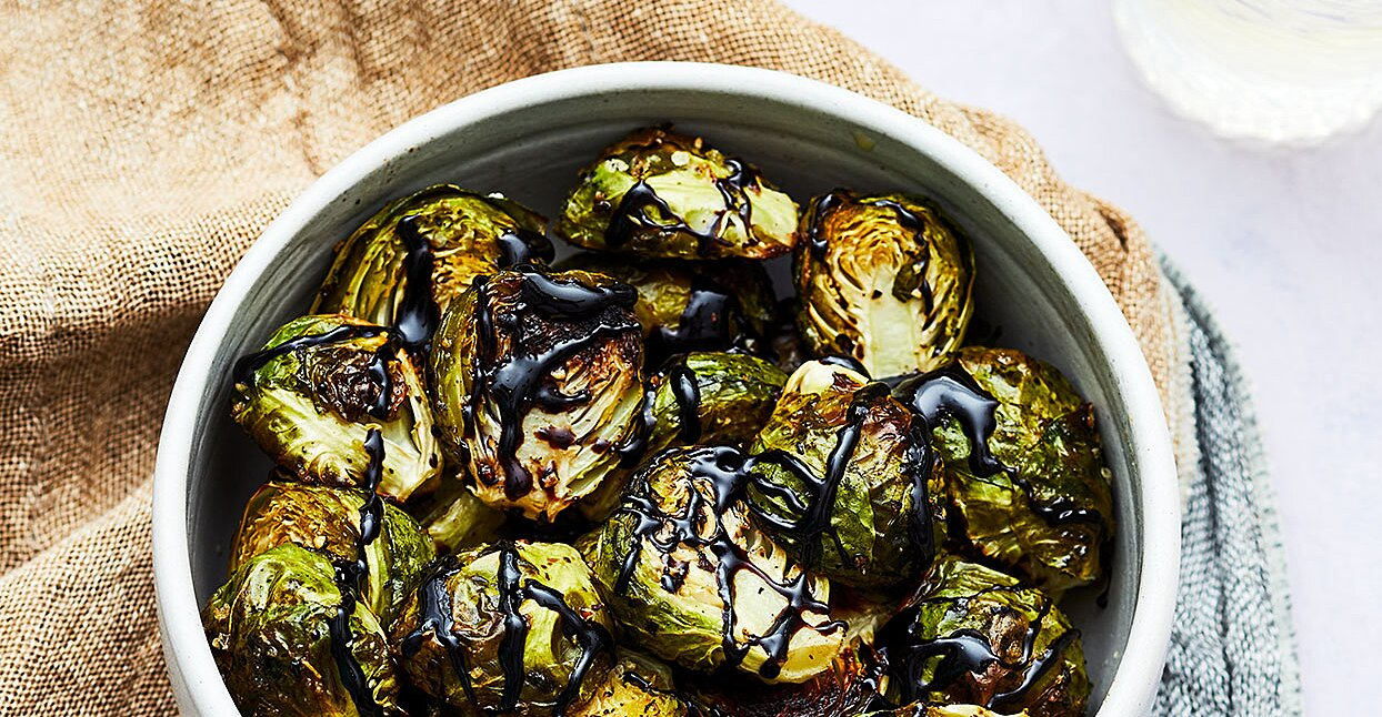 Honey-Balsamic Brussels Sprouts
