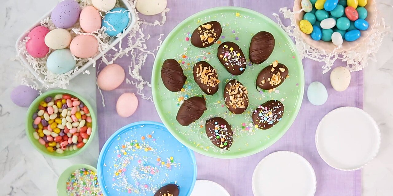 chocolate covered easter eggs recipe