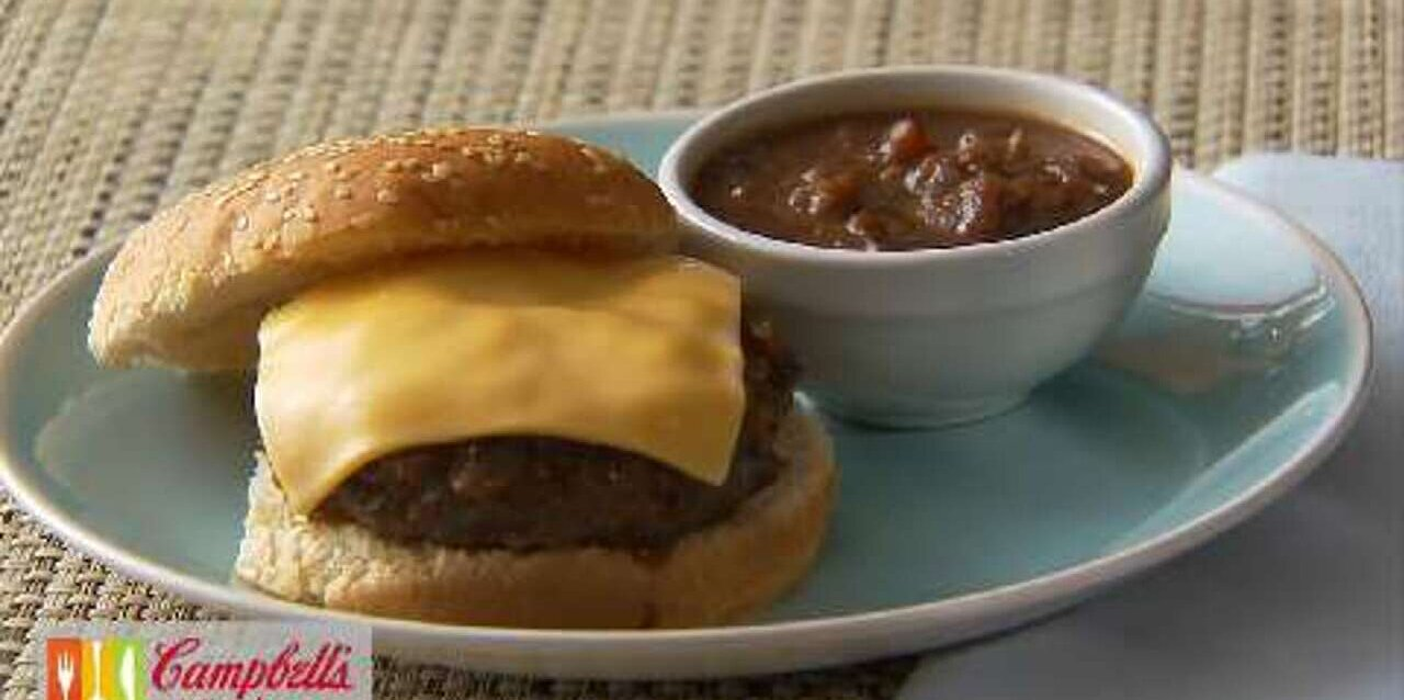 campbells kitchen french onion burgers
