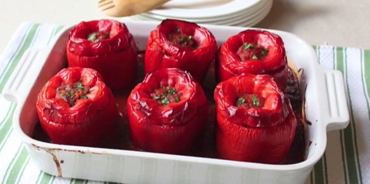 chef johns stuffed peppers