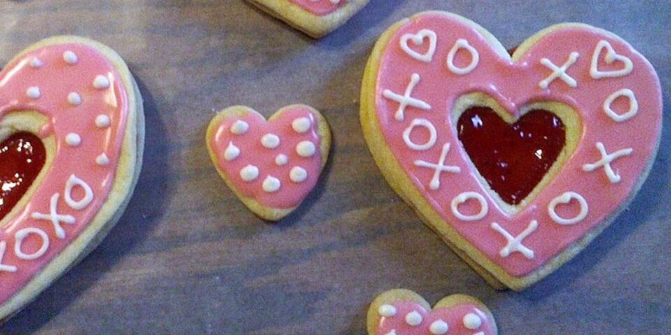 easy valentine sandwich cookies recipe
