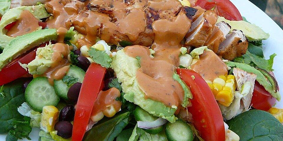 amys barbecue chicken salad recipe