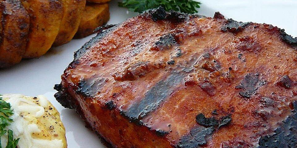 smoky grilled pork chops recipe