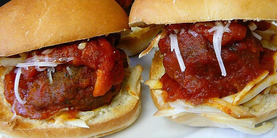 mini meatball subs recipe