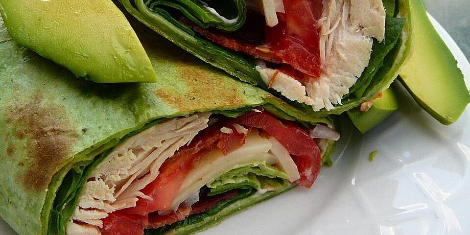 california club chicken wraps recipe