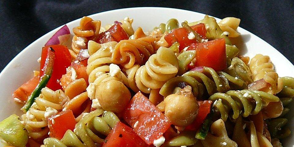 sandys greek pasta salad recipe