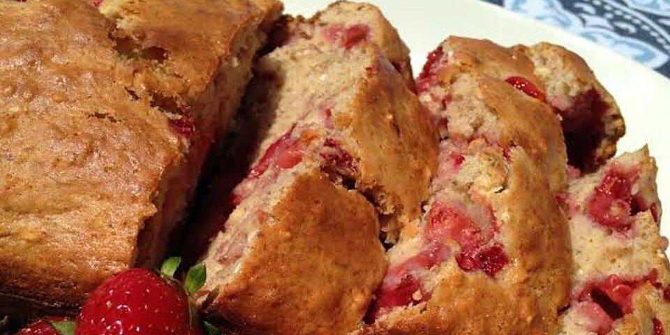 banana strawberry oat bread recipe