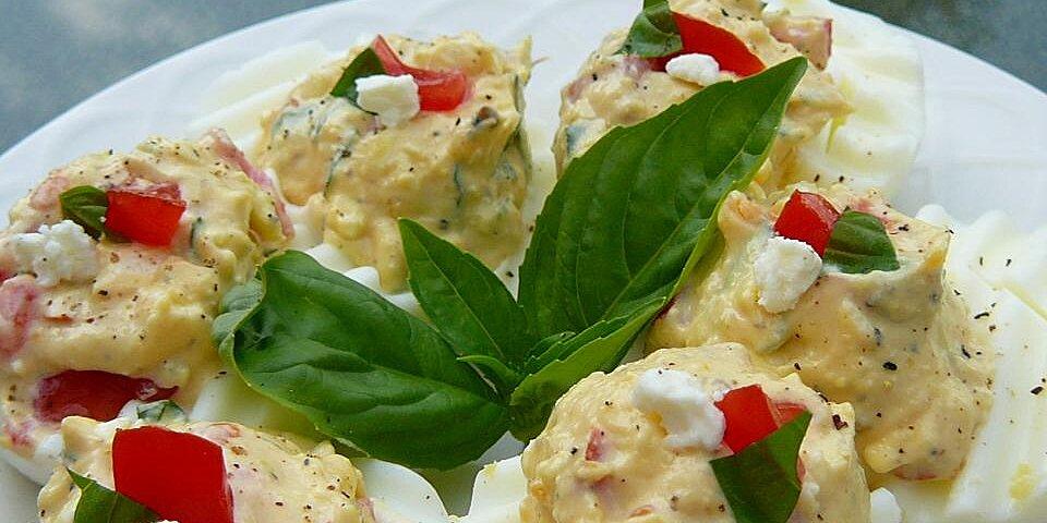 greek deviled eggs recipe