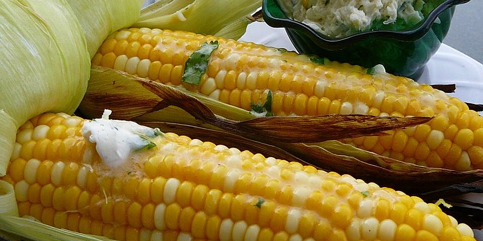 grilled corn with cilantro lime butter recipe