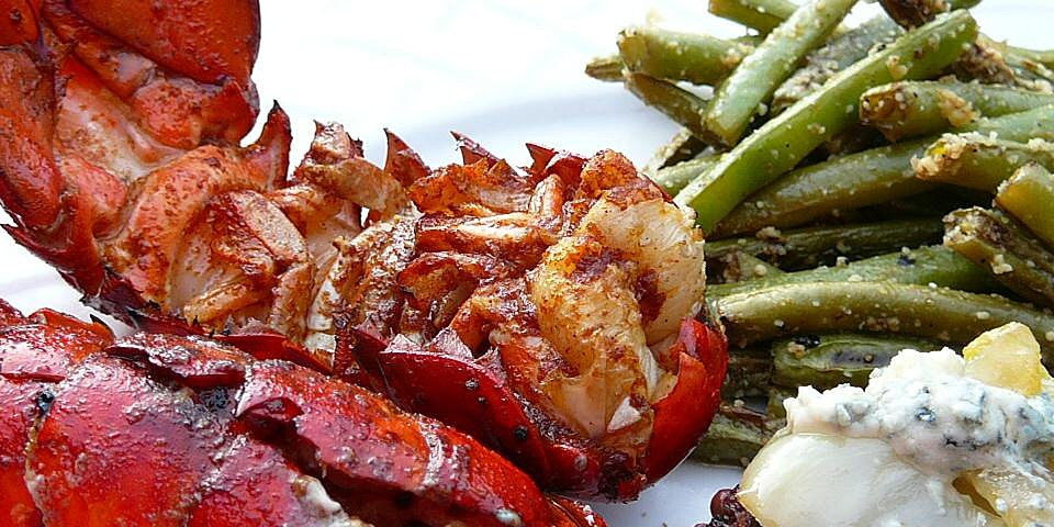 grilled rock lobster tails recipe