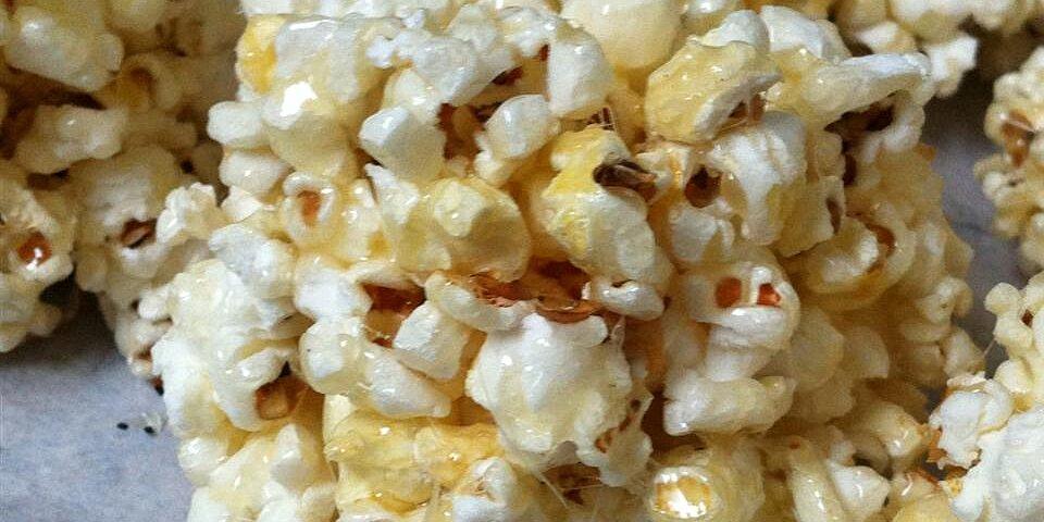 grandpas popcorn balls recipe