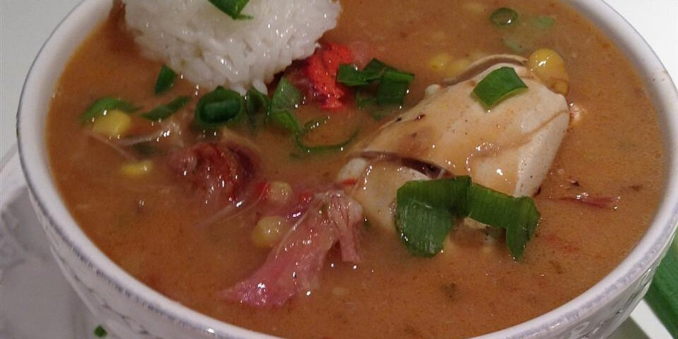 chef johns duck sausage and shrimp gumbo