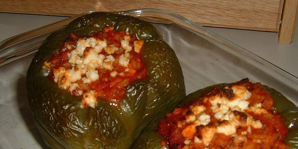 lamb feta peppers recipe