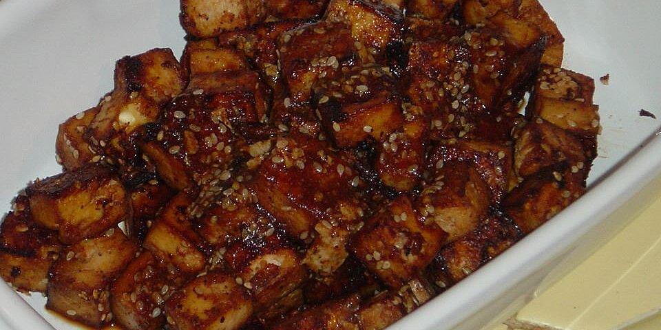 baked tofu bites recipe