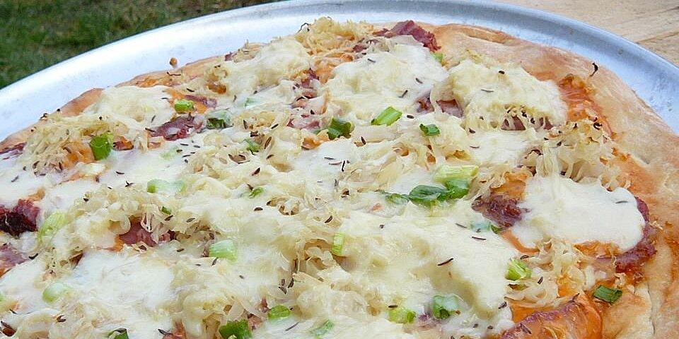 reuben pizza recipe