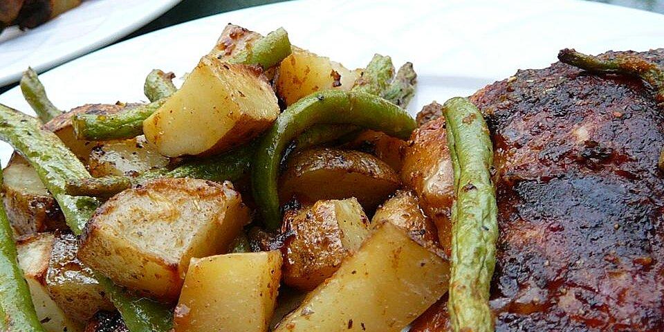 greek lemon chicken and potato bake recipe