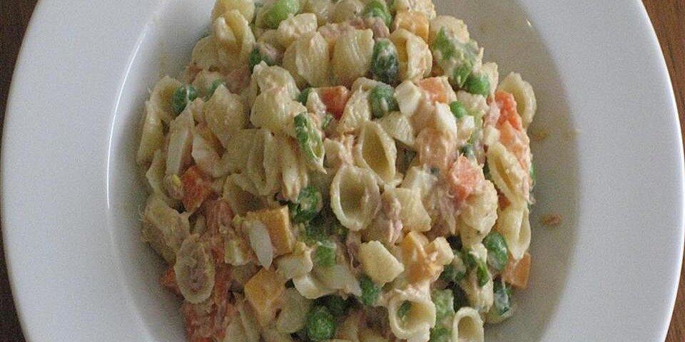 pasta salad with peas recipe
