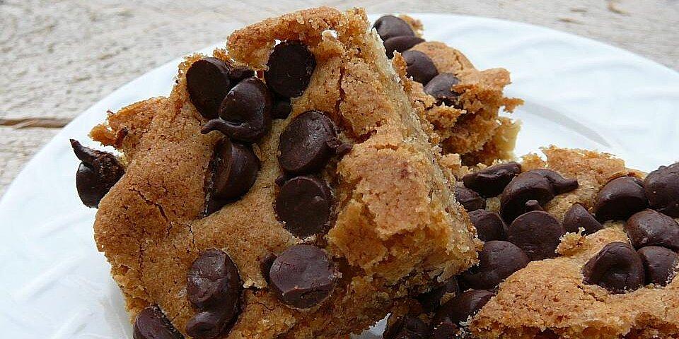 blonde brownies i recipe
