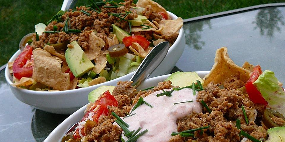 quick turkey taco salad recipe