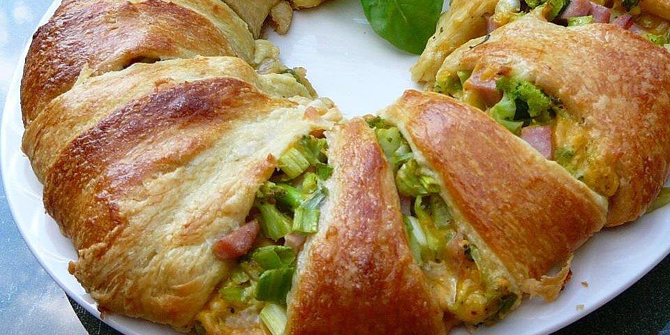 broccoli ham ring recipe