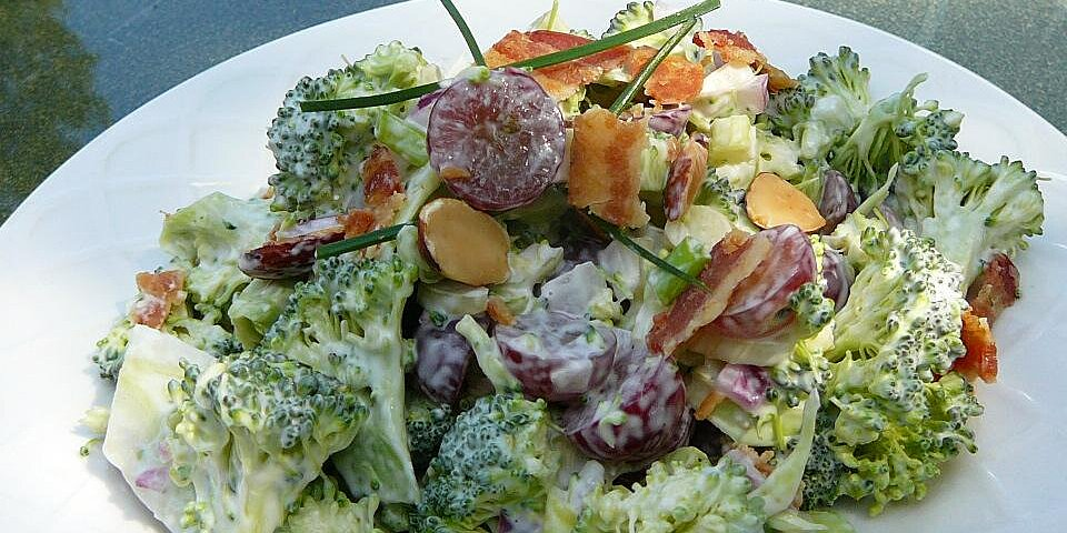 red broccoli salad recipe