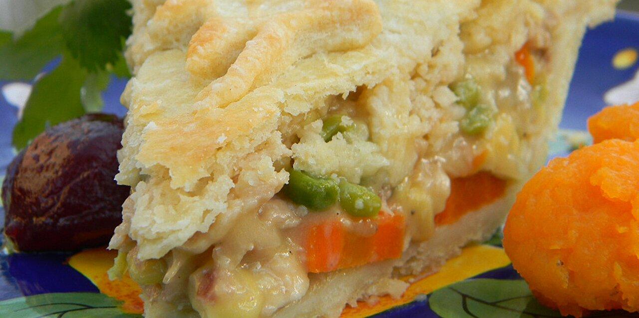 grandma carlsons turkey pot pie recipe