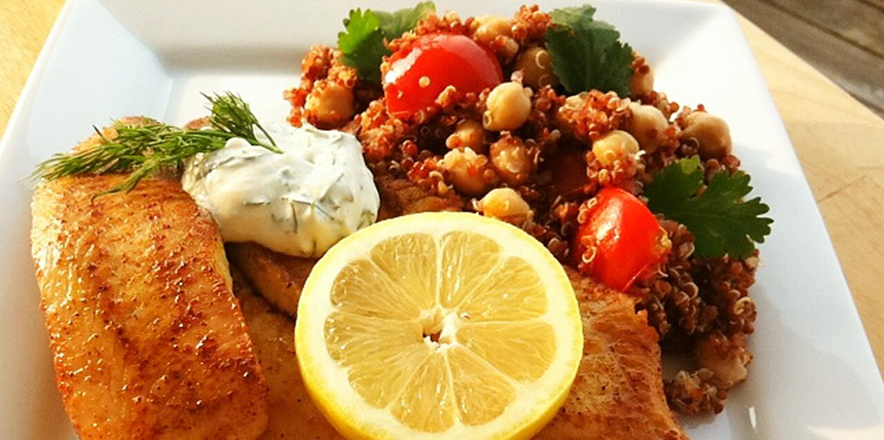 hudsons baked tilapia with dill sauce recipe
