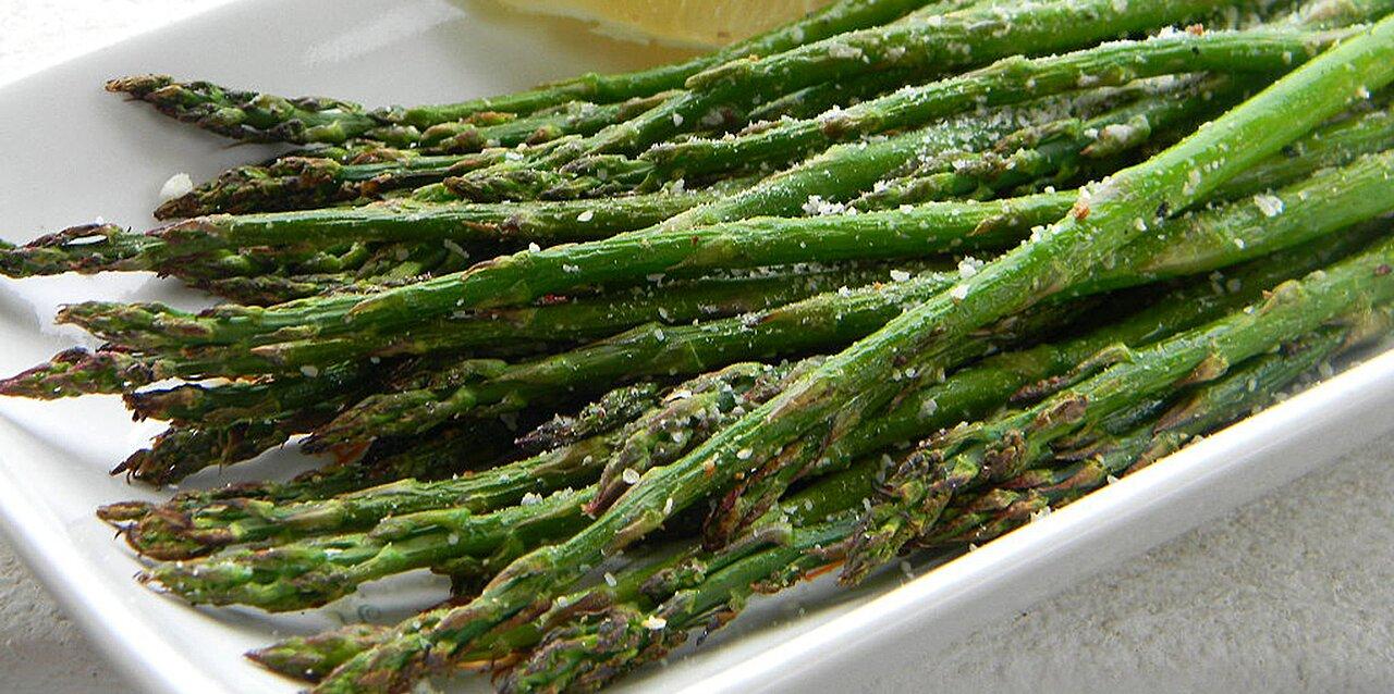 grilled lemon parmesan asparagus recipe