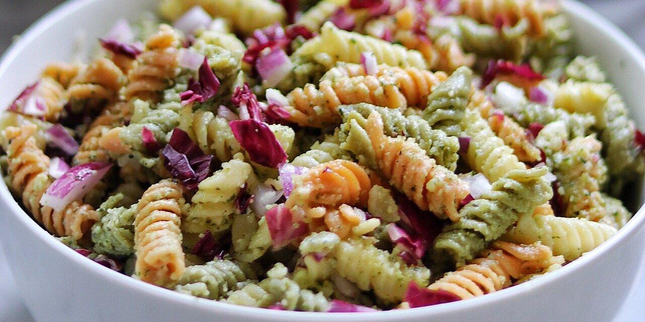 mayas perfect pesto pasta salad recipe