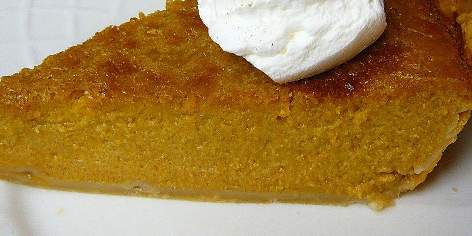 mrs siggs fresh pumpkin pie recipe