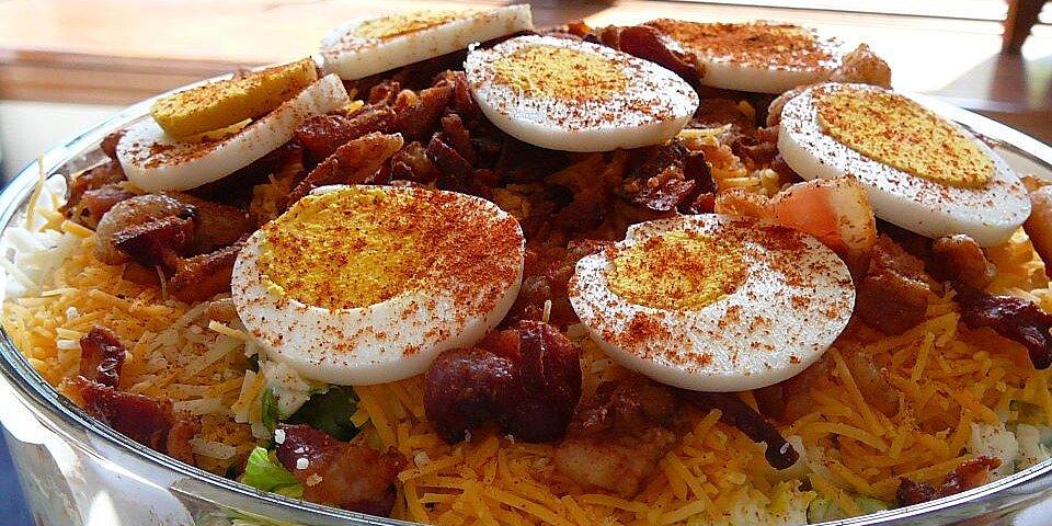 twenty four hour layered salad recipe