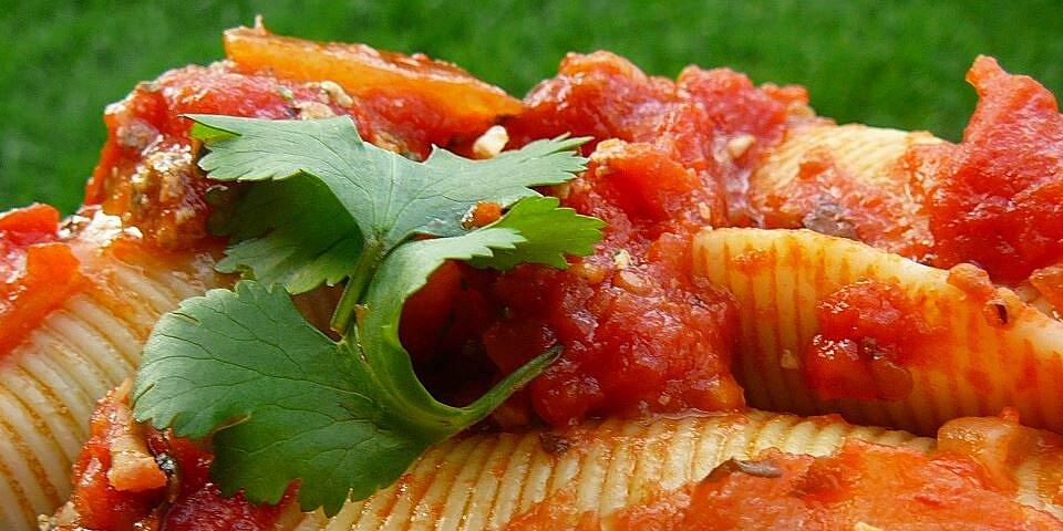 pasta shells florentine recipe