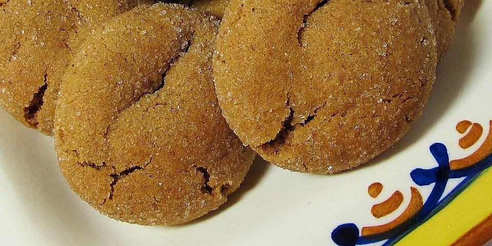 soft gingersnaps recipe
