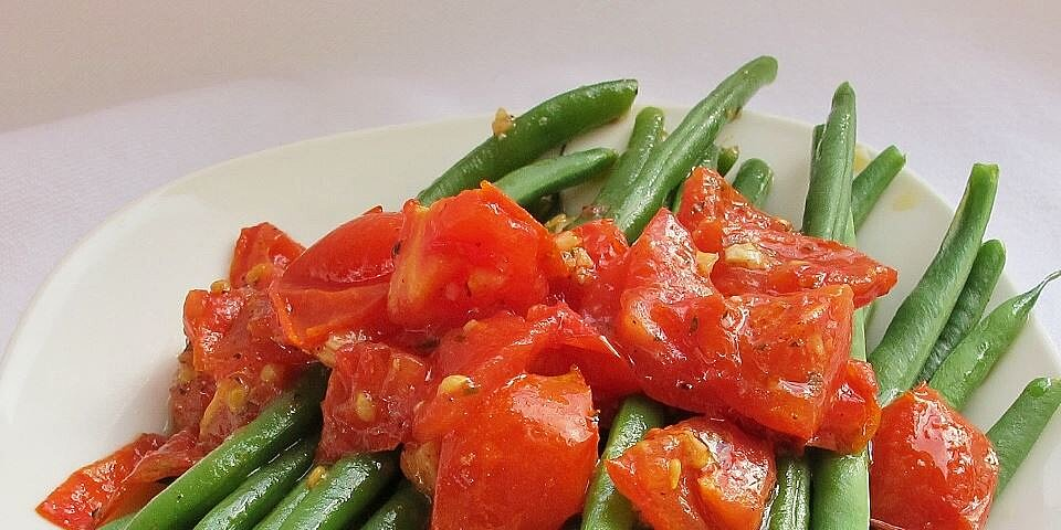green beans with cherry tomatoes recipe