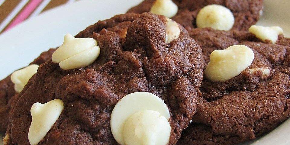 white chip chocolate cookies recipe