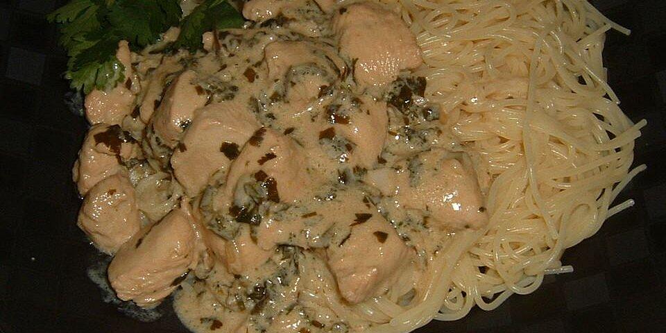 creamy cilantro chicken with a kick recipe