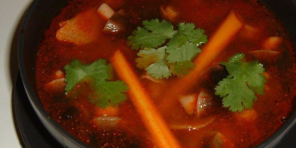 tom yum koong soup recipe