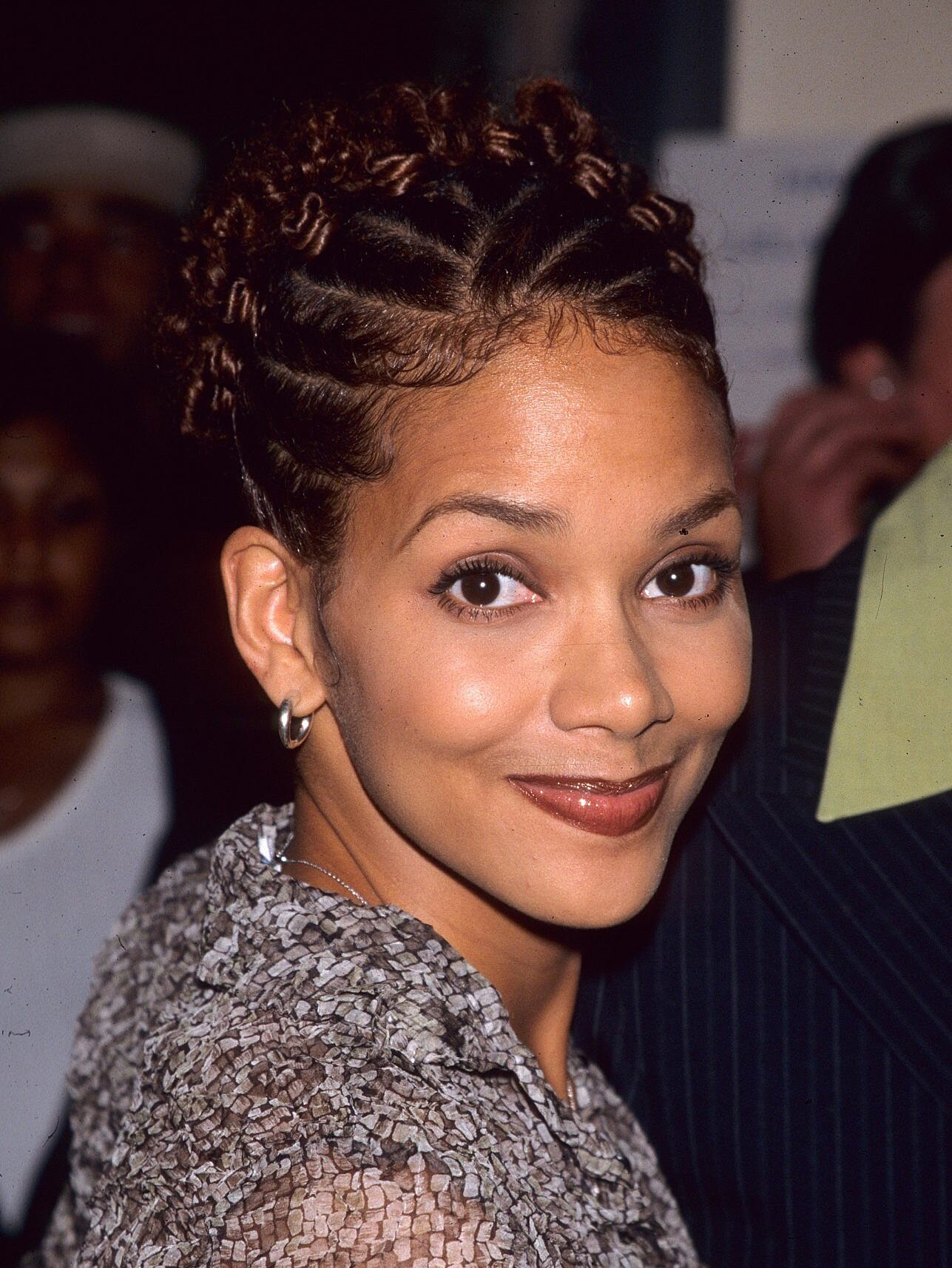Halle Berry Had A Mullet In The 90s Instyle