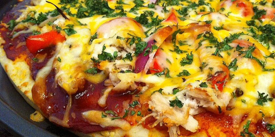barbeque chicken grilled pizza recipe