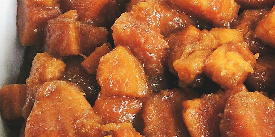 back to brandied candied sweet potatoes with brown sugar recipe