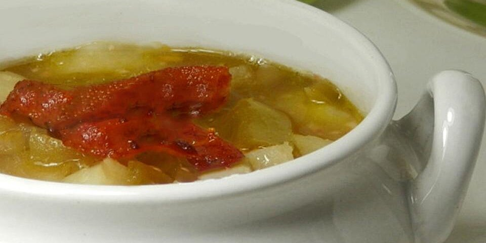 green tomato and bacon soup recipe