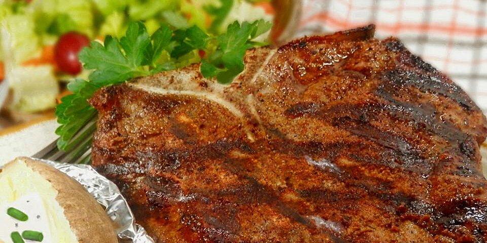 rocks t bone steaks recipe